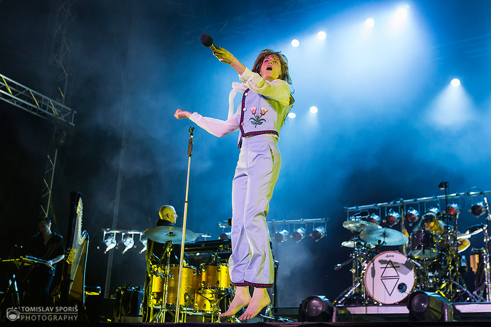 Florence + The Machine na INmusic festivalu (Foto: Tomislav Sporiš)