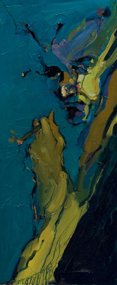 Pogled - ulje na drvu, 60x130 cm - Autor Danijel Drakulić, kontakt: dandrakul@gmail.com)