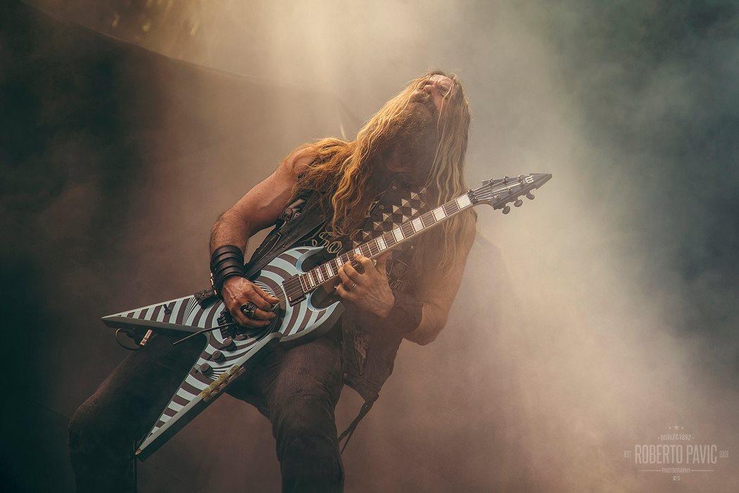 Zakk Wylde na Rock In Vienna (Foto: Roberto Pavić)