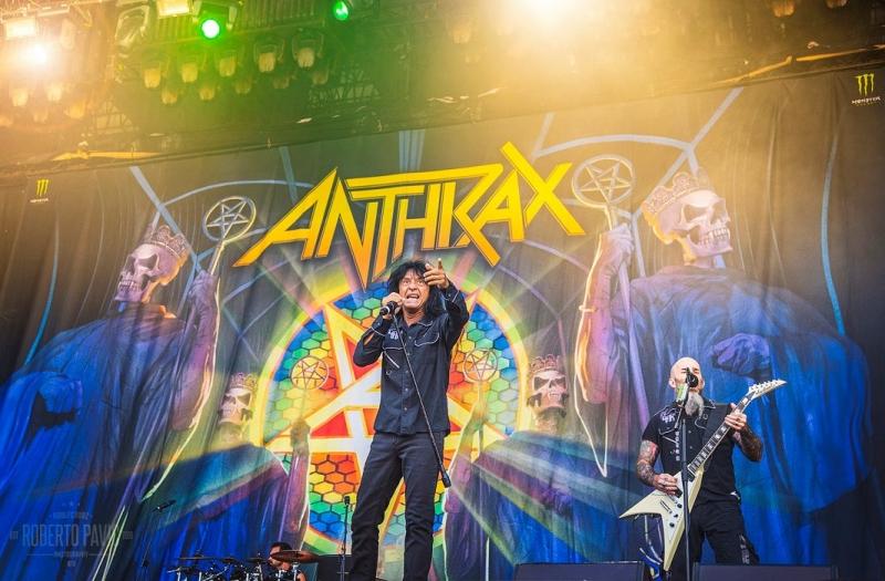Anthrax na Rock In Vienna (Foto: Roberto Pavić)