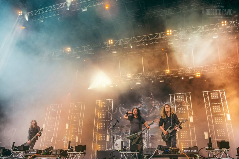 Kreator na Rock In Vienna (Foto: Roberto Pavić)