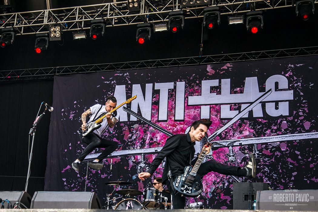 Anti Flag na Rock In Vienna (Foto: Roberto Pavić)