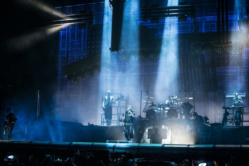 Rammstein na Rock In Vienna