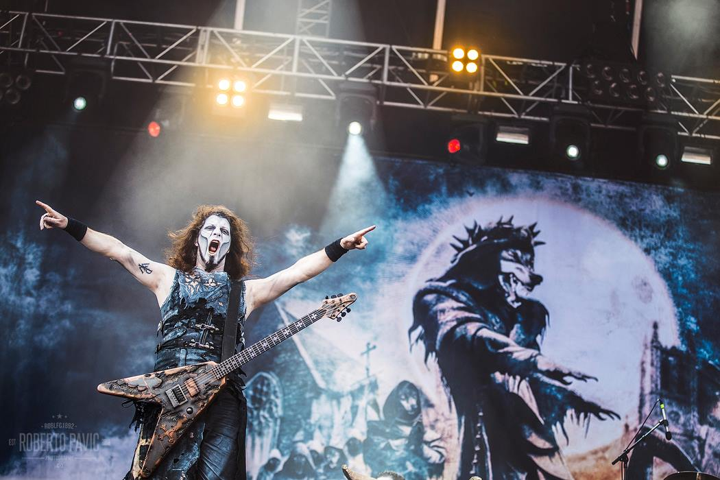 Powerwolf na Rock In Vienna (Foto: Roberto Pavić)
