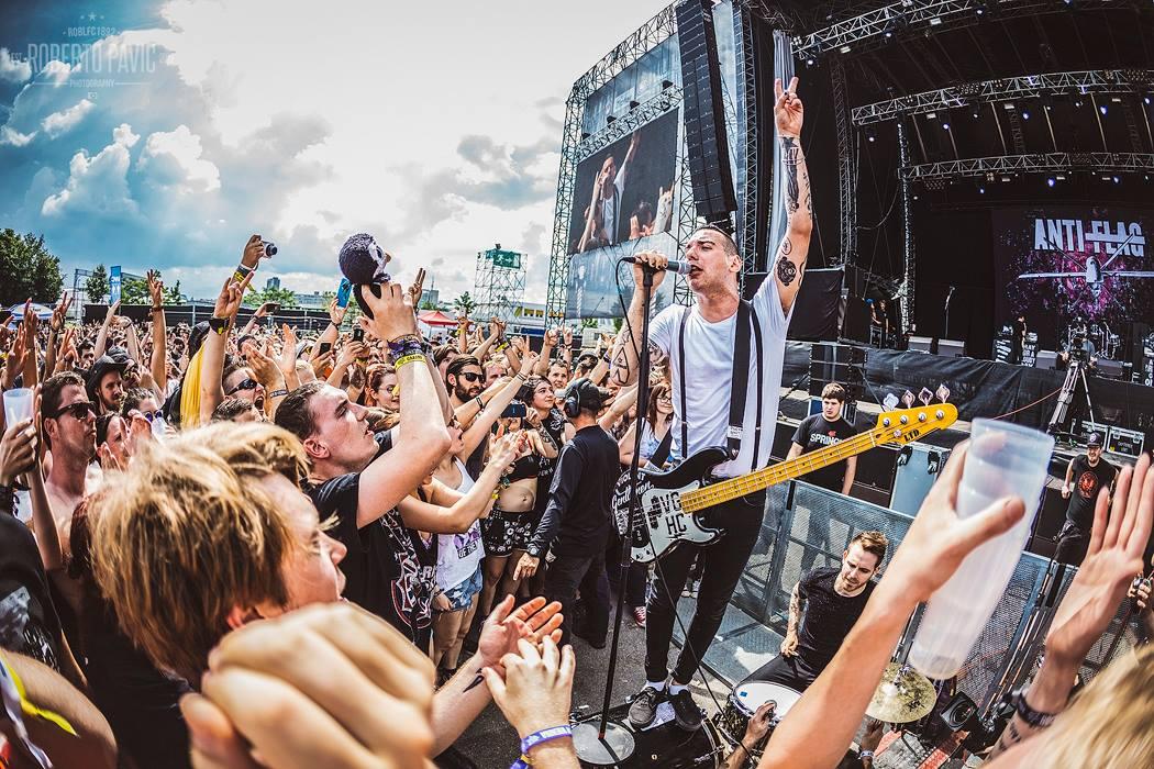 Anti Flag na Rock In Vienna (Foto: Roberto Pavić)