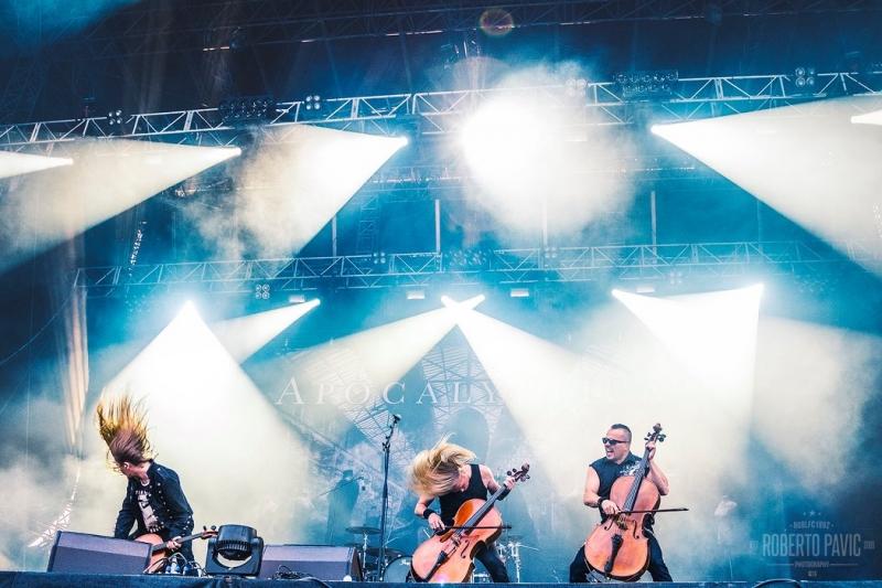 Apocalyptica na Rock In Vienna (Foto: Roberto Pavić)