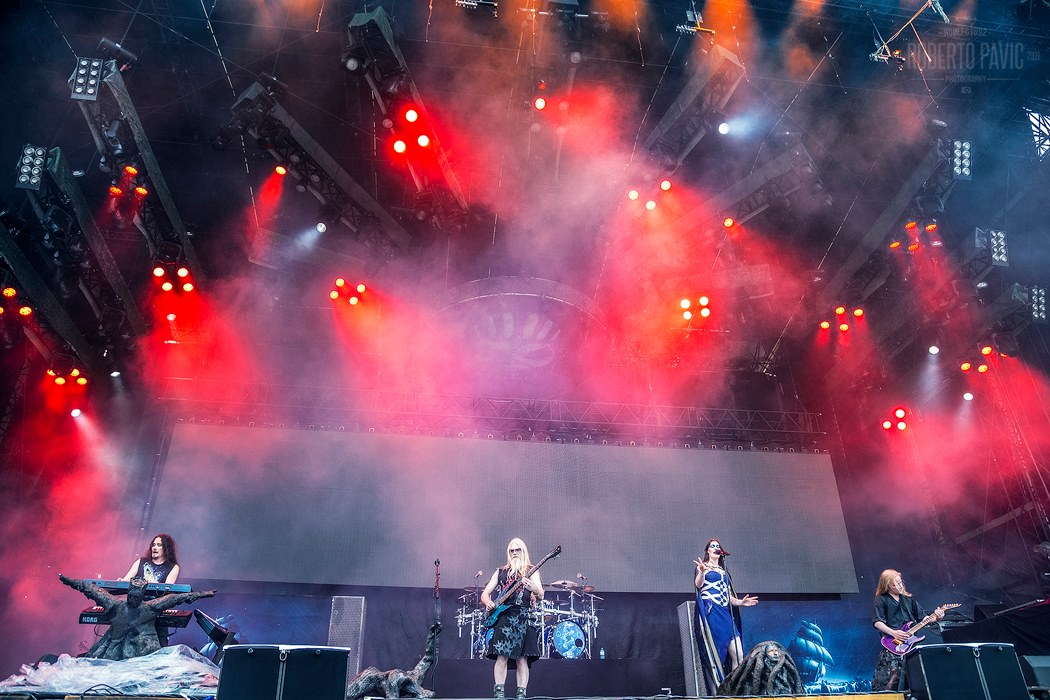 Nightwish na Rock In Vienna (Foto: Roberto Pavić)