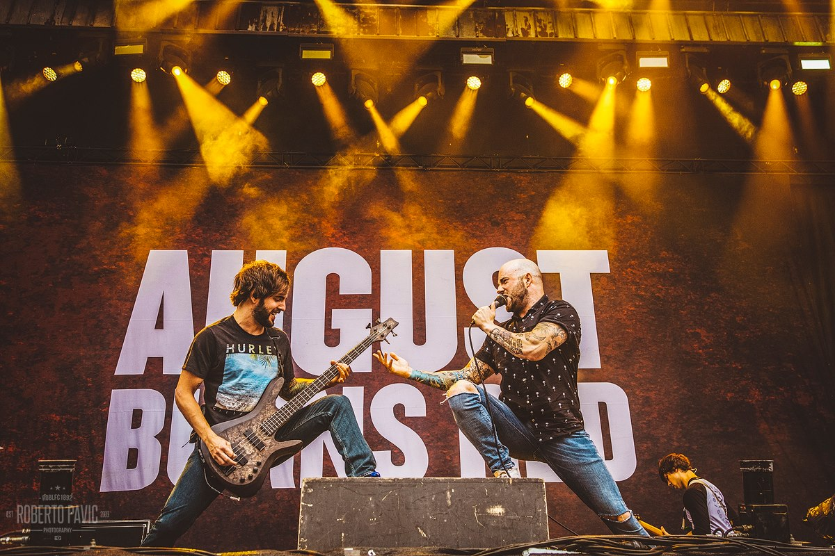 August Burns Red na festivalu Nova Rock 2016 (Foto: Roberto Pavić)