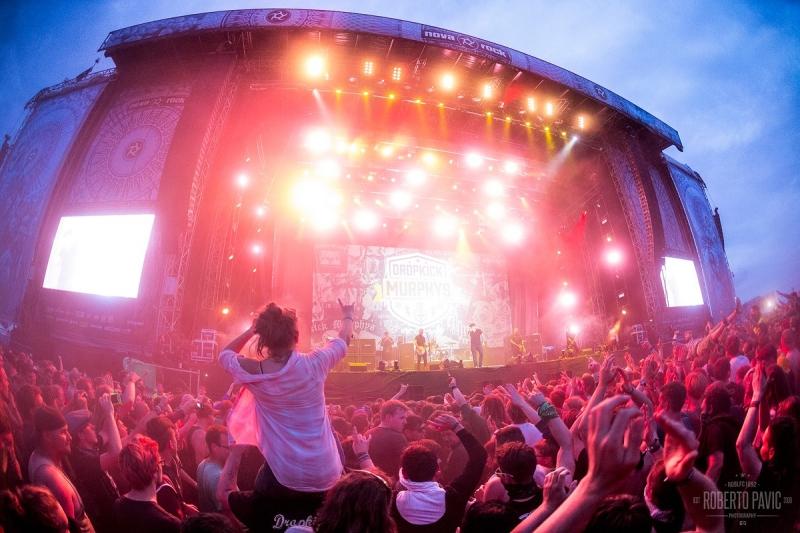 Dropkick Murphys na festivalu Nova Rock 2016 (Foto: Roberto Pavić)