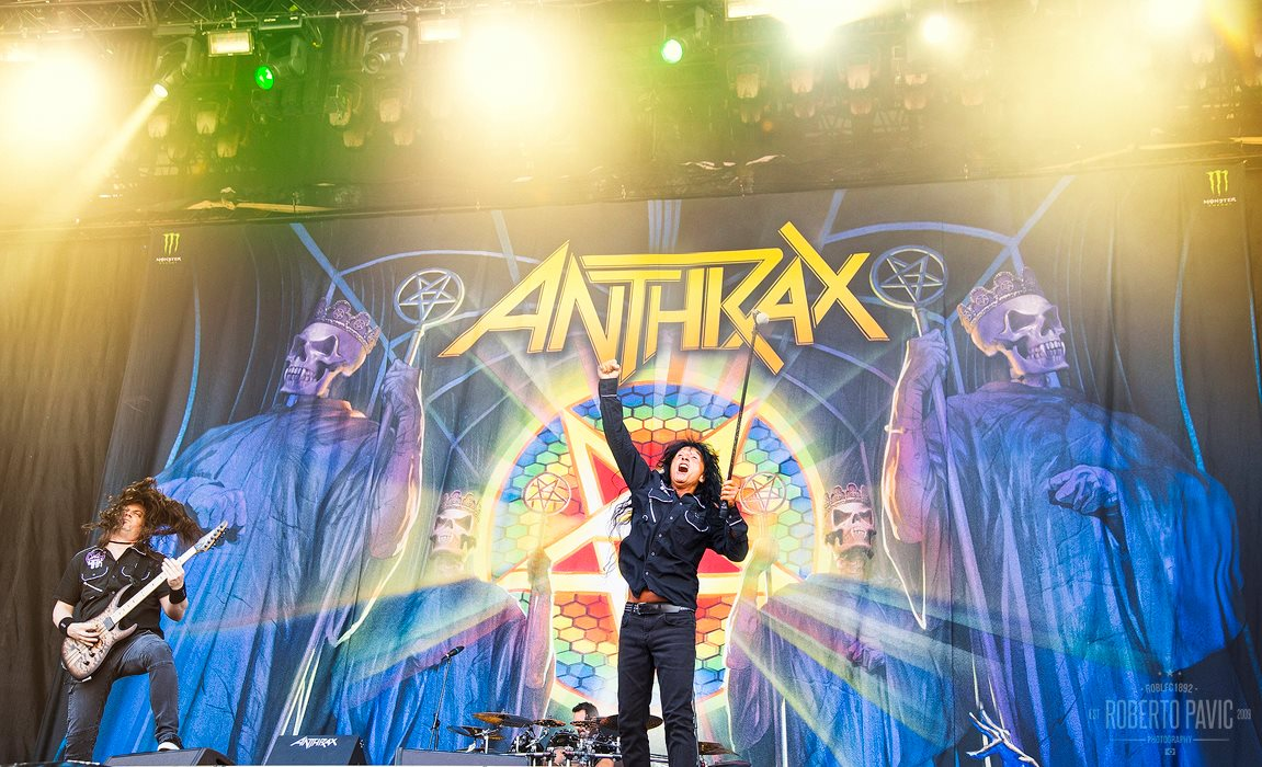 Anthrax na Rock In Vienna (Foto: Roberto Pavić)