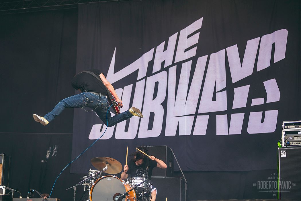 The Subways na Rock In Vienna (Foto: Roberto Pavić)