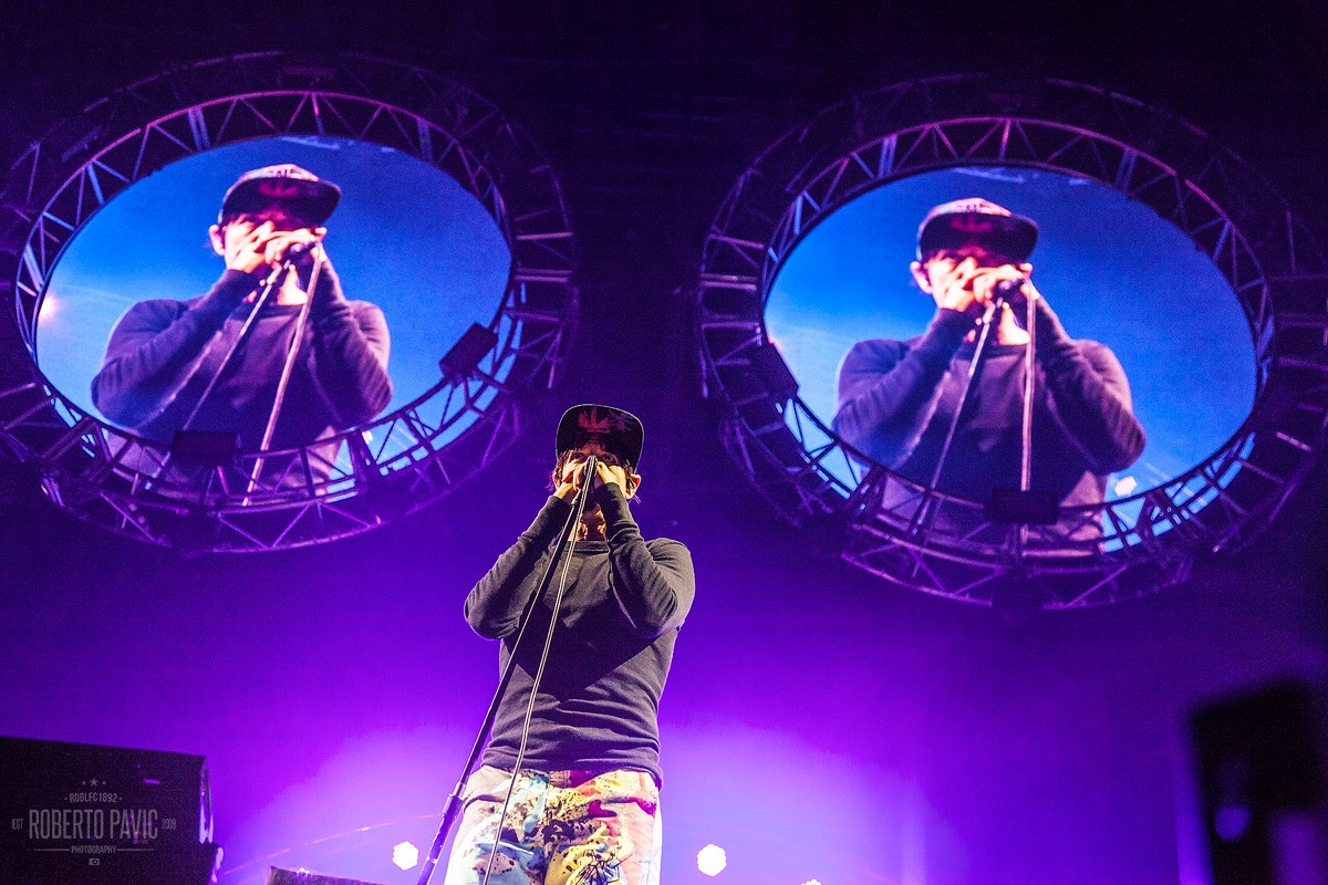 Red Hot Chili Peppers na festivalu Nova Rock 2016 (Foto: Roberto Pavić)