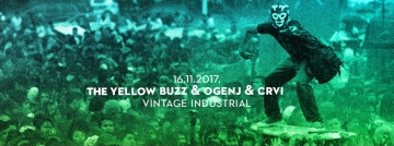 Crvi, Ogenj i The Yellow Buzz u Vintage Industrial Baru