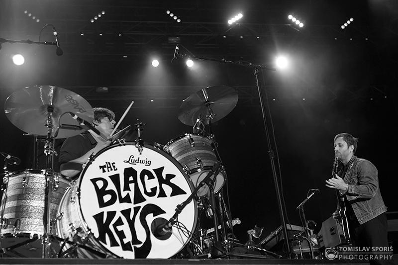The Black Keys na INmusic festivalu (Foto: Tomislav Sporiš)