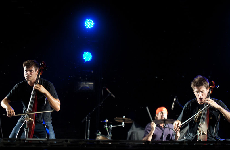 2 Cellos i Chad Smith (Foto: Nino Šolić)