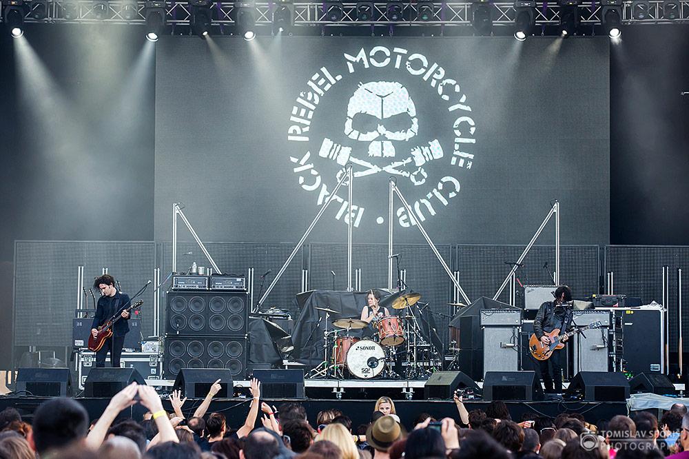 Black Rebel Motorcycle Club na 10. INmusic Festivalu (Foto: Tomislav Sporiš)