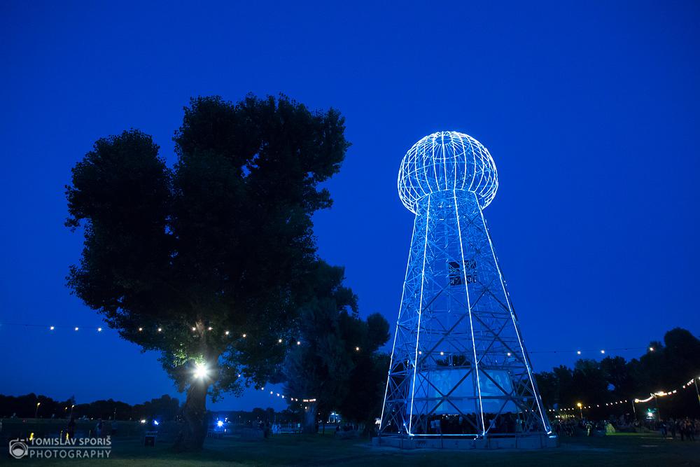 Tesla tower na INmusic festivalu (Foto: Tomislav Sporiš)