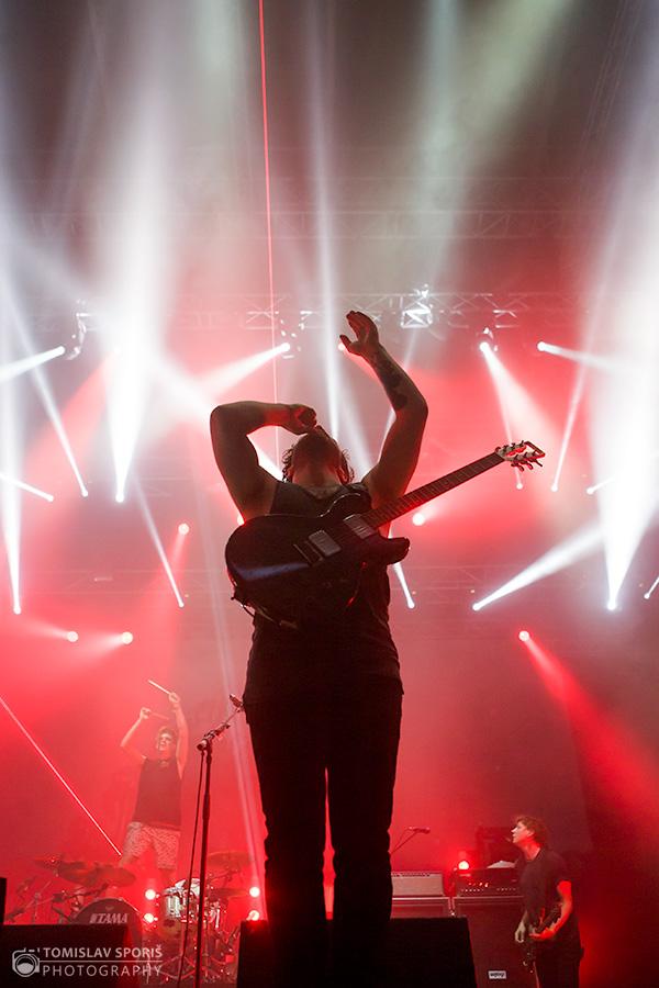 Foals na INmusic festivalu (Foto: Tomislav Sporiš)