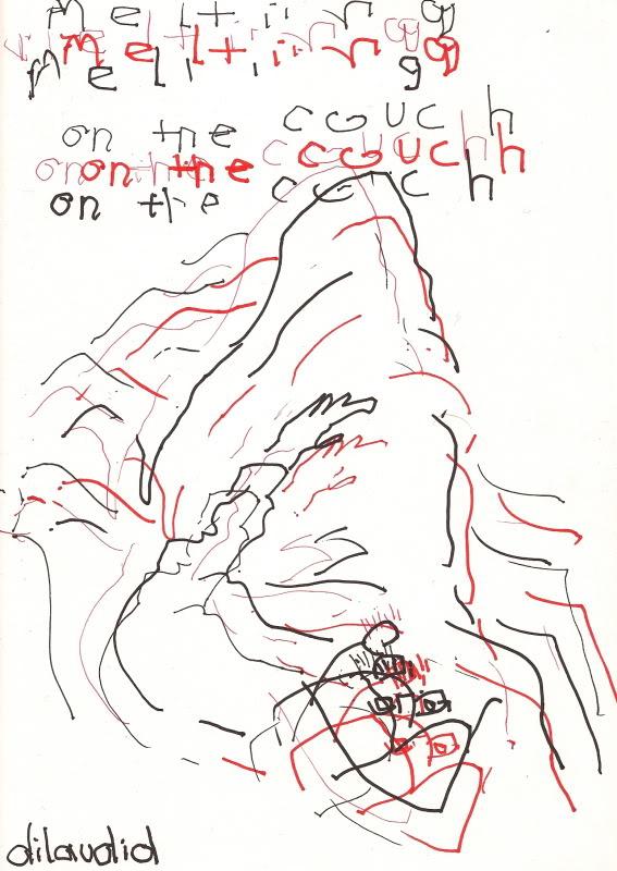 Bryan Lewis Saunders - autoportret, korištena droga: Dilaudid (4 mg)
