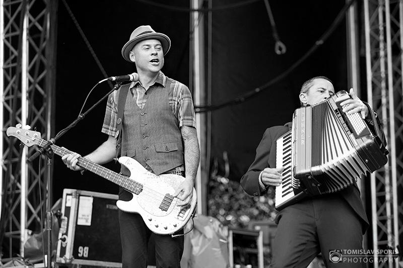 Flogging Molly na INmusic festivalu (Foto: Tomislav Sporiš)