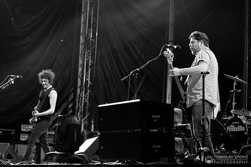 Fratellis na INmusic festivalu (Foto: Tomislav Sporiš)