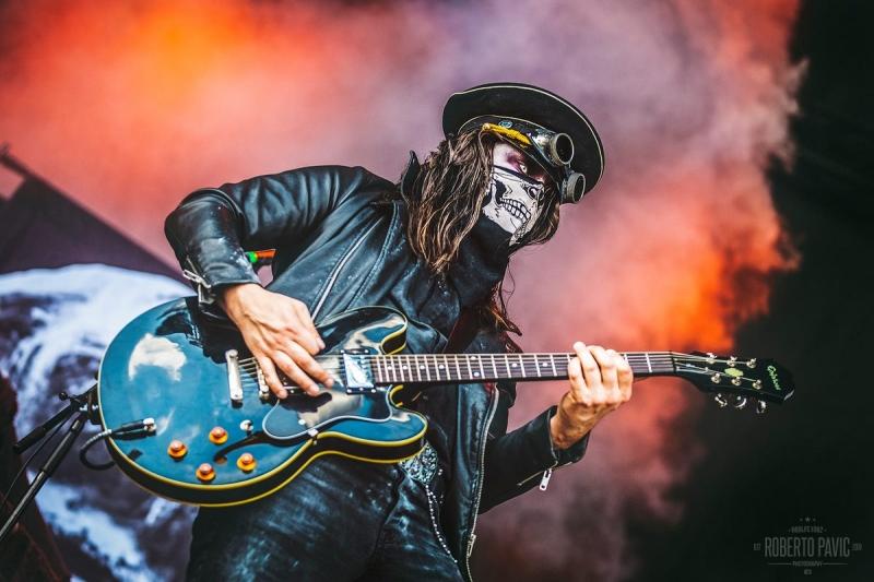 Bloodsucking Zombies from Outer Space na festivalu Nova Rock 2016 (Foto: Roberto Pavić)