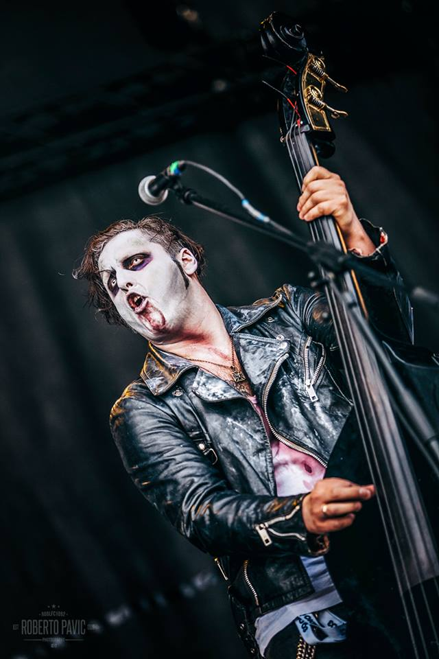 Bloodsucking Zombies from Outer Space na festivalu Nova Rock 2016 (Foto: Roberto Pavić)