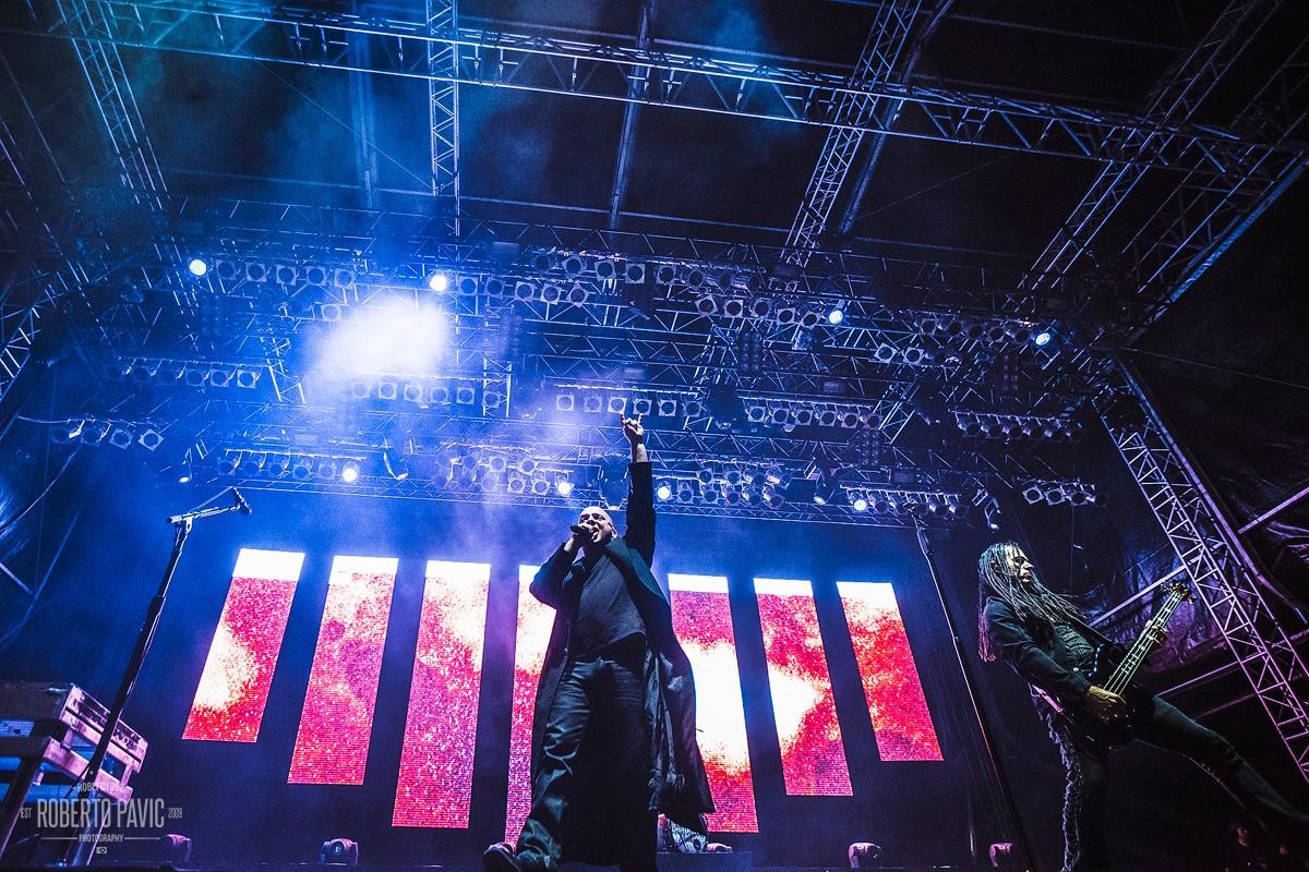 Disturbed na festivalu Nova Rock 2016 (Foto: Roberto Pavić)