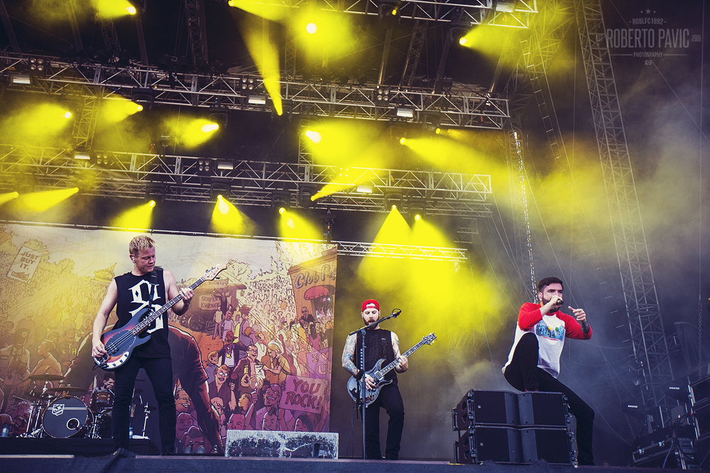 A Day To Remember na Rock In Vienna (Foto: Roberto Pavić)