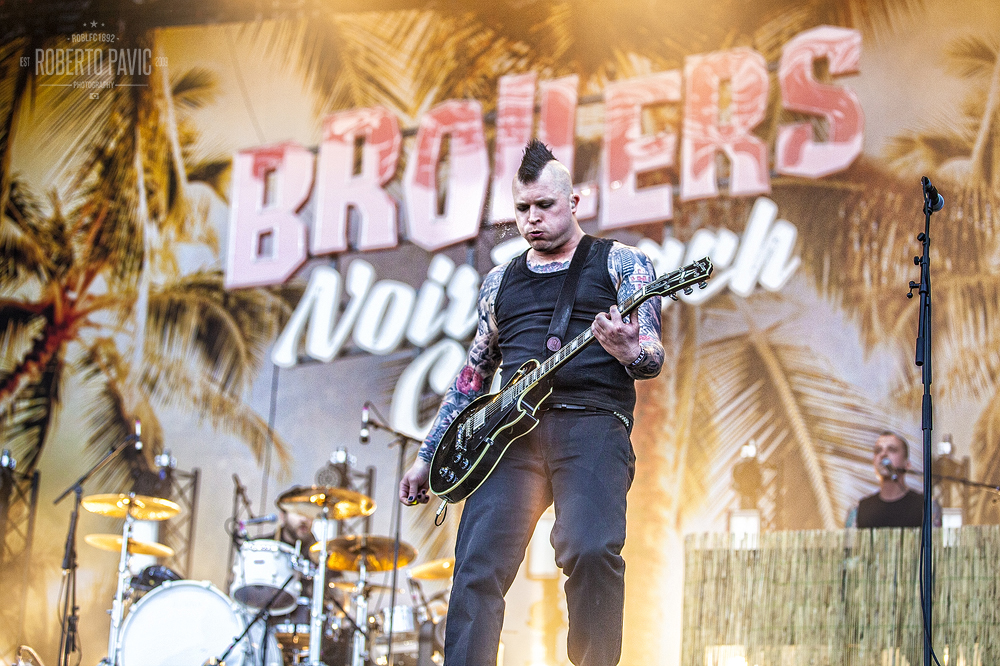 Broilers na Rock In Vienna (Foto: Roberto Pavić)