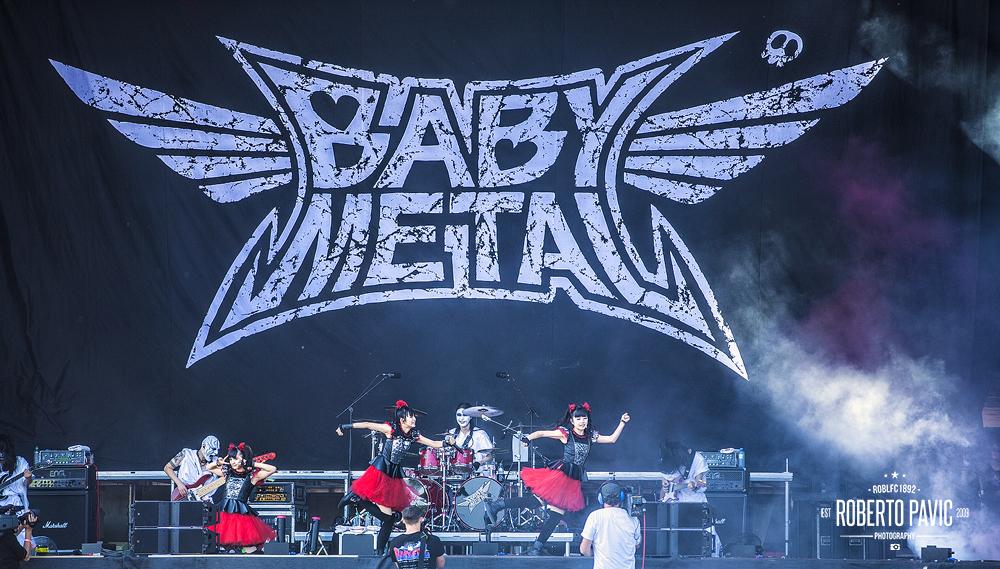 Baby Metal na Rock In Vienna (Foto: Roberto Pavić)