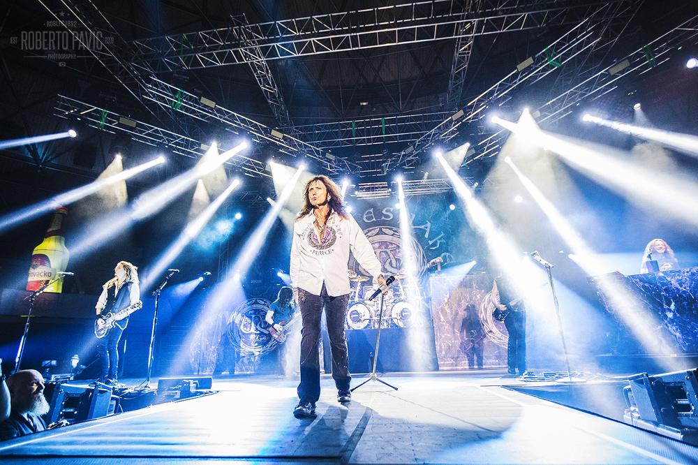 Whitesnake u KC Dražen Petrović (Foto: Roberto Pavić)