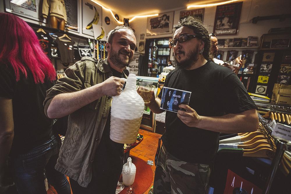 Šank?! - promocija albuma 'Naša stvar' u Dirty Old Shopu (Foto: Roberto Pavić)