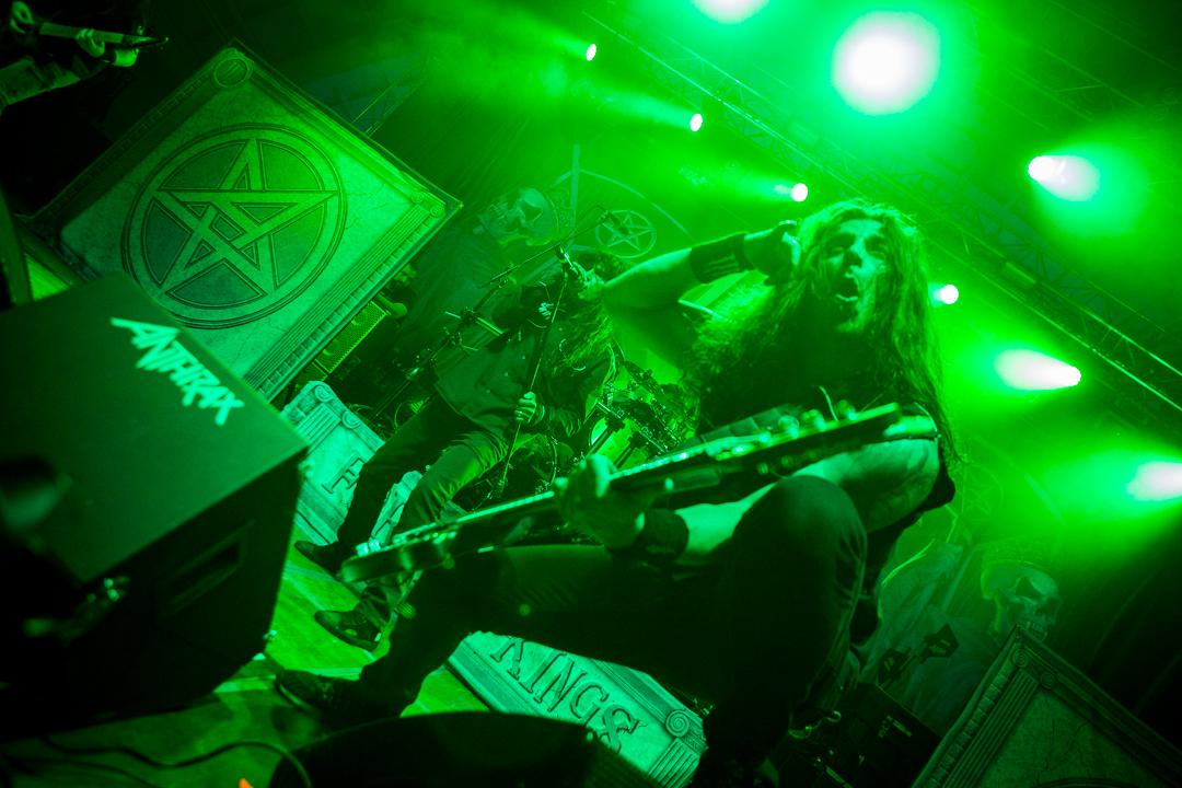 Anthrax na Zagrebačkom velesajmu (Foto: Izidor Tačković)