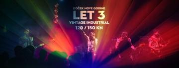 Doček Nove 2018. uz Let 3 u Vintage Industrialu