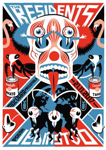 Plakat za koncert u Jedinstvu by Igor Hofbauer