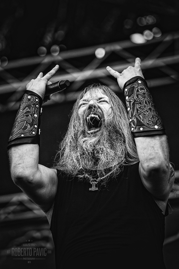 Amon Amarth na Nova Rock Festivalu (Foto: Roberto Pavić)