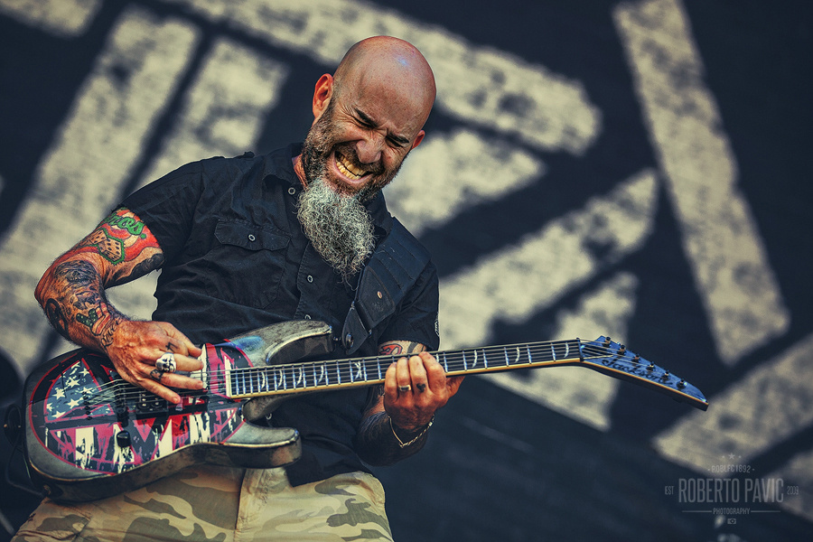 Anthrax na Nova Rock Festivalu (Foto: Roberto Pavić)