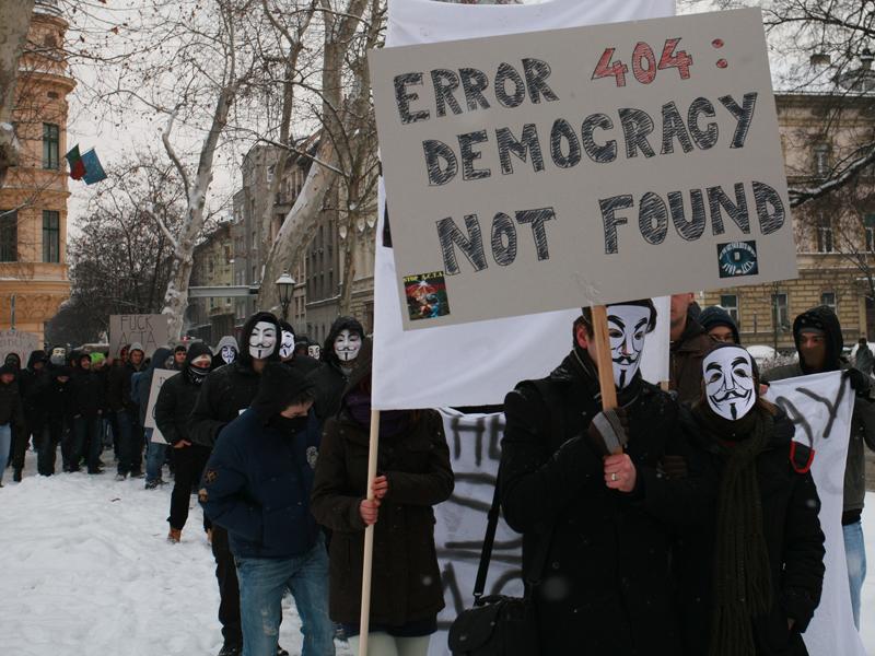 Anti ACTA prosvjedi u Zagrebu (Foto: Nino Šolić)