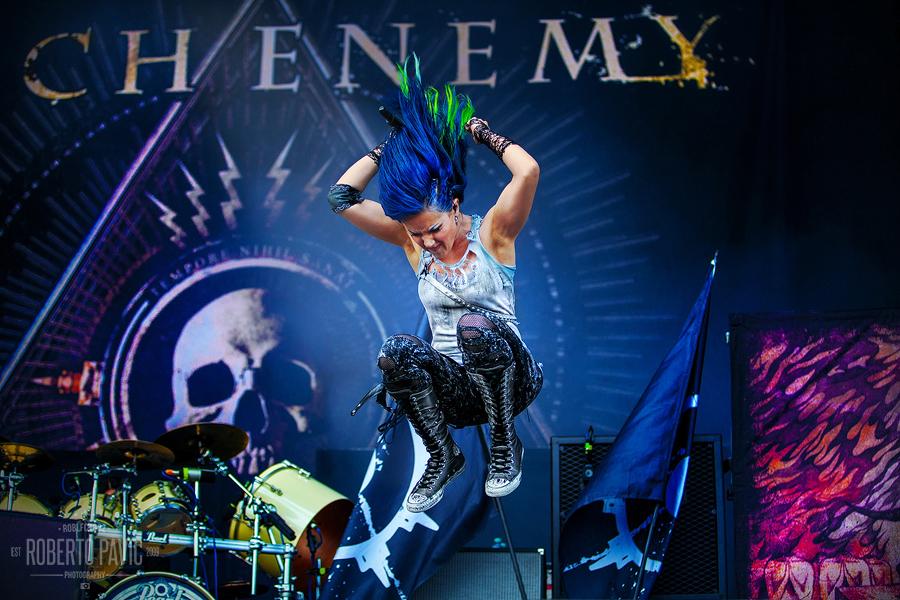 Arch Enemy na Nova Rock Festivalu (Foto: Roberto Pavić)