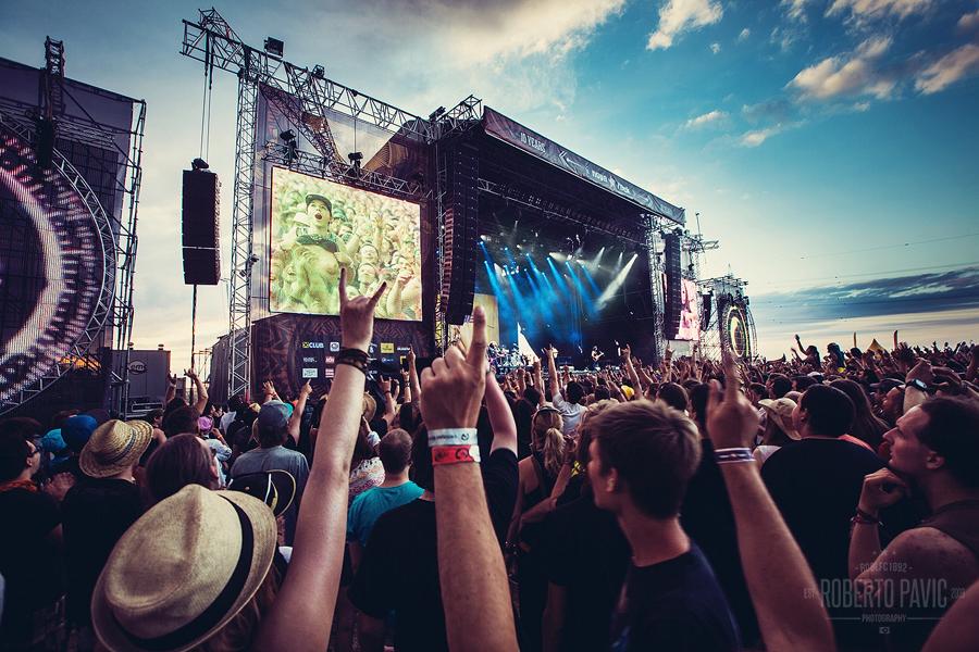 Atmosfera na Nova Rock Festivalu (Foto: Roberto Pavić)