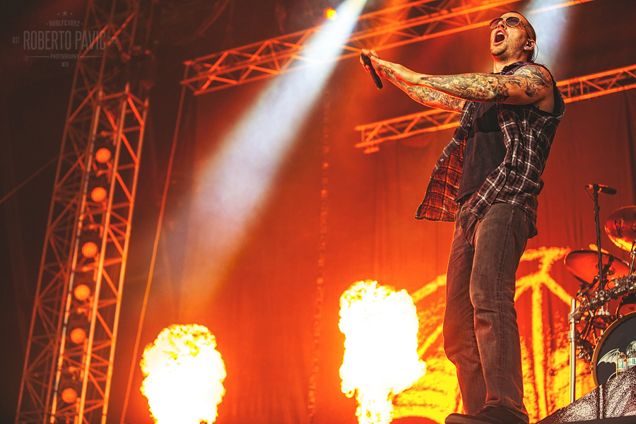 Avenged Sevenfold na Nova Rock Festivalu (Foto: Roberto Pavić)