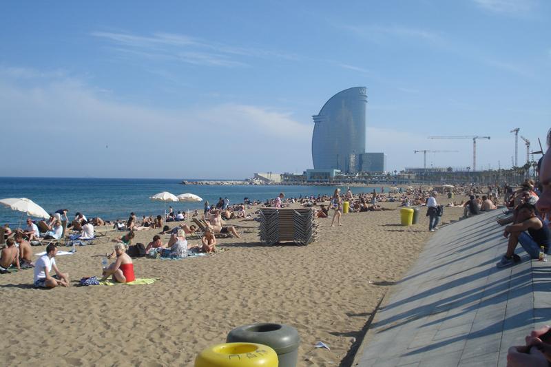 Plaža Barceloneta (Foto: Iva Tolj)