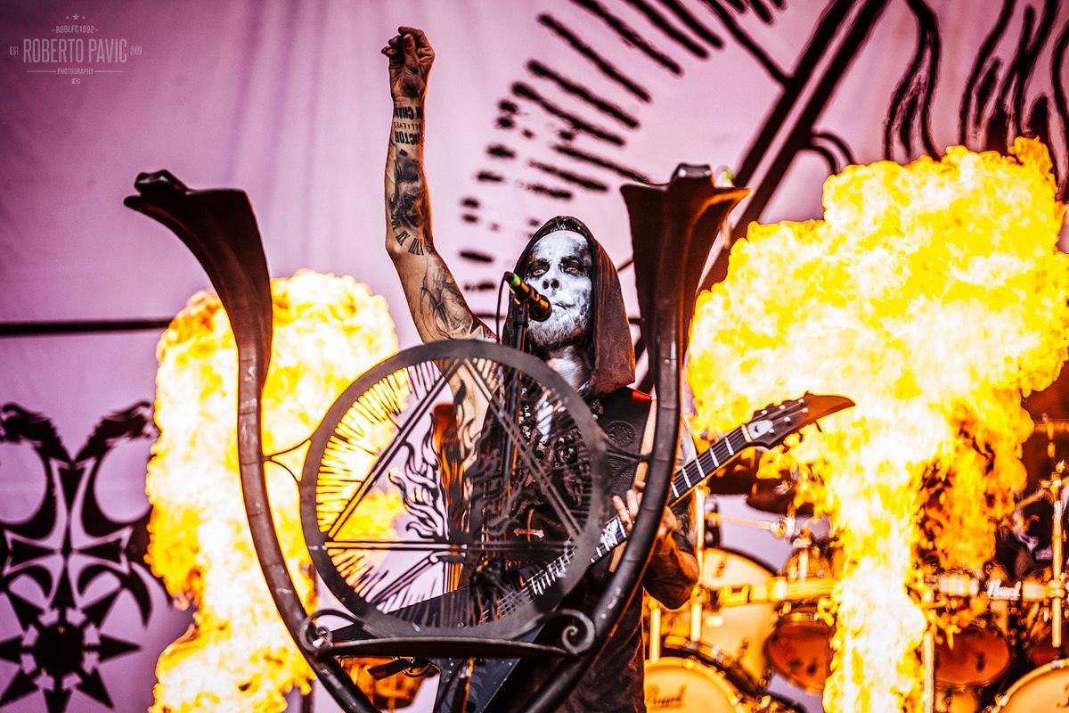 Behemoth na festivalu Nova Rock 2016 (Foto: Roberto Pavić)