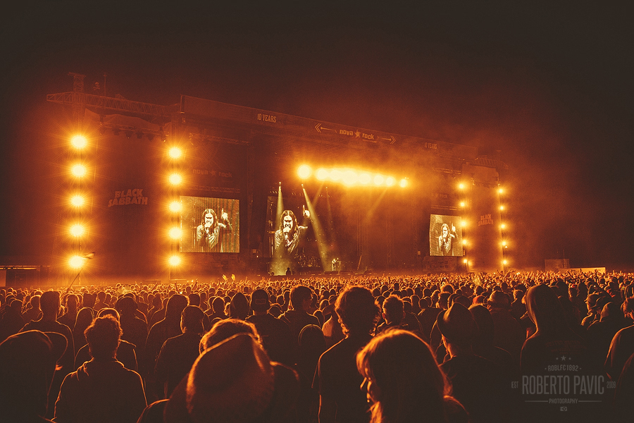Black Sabbath na Nova Rock Festivalu (Foto: Roberto Pavić)