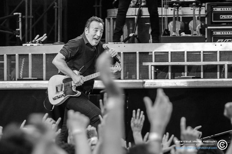 Bruce Springsteen u Milanu (Foto: Anastazija Vržina)