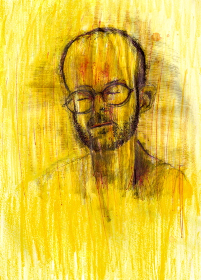 Bryan Lewis Saunders - autoportret, korištena droga: Buspar (15 mg - ušmrkano)