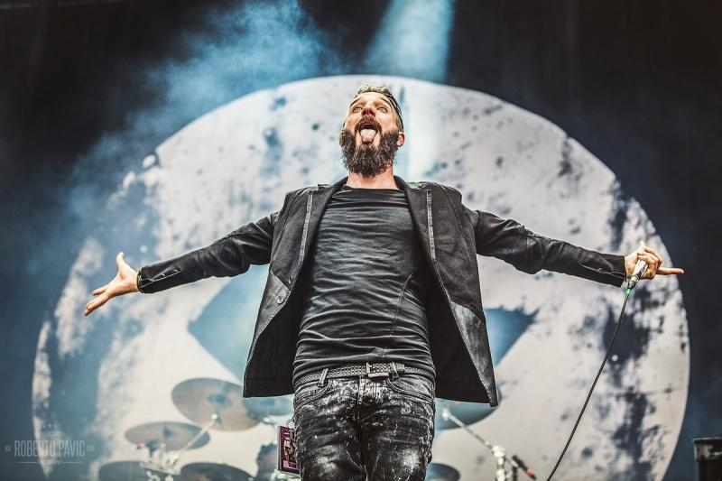 Caliban na festivalu Nova Rock 2016 (Foto: Roberto Pavić)