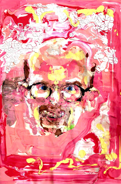 Bryan Lewis Saunders - autoportret, korištena droga: Crystalmeth (metamfetamin)