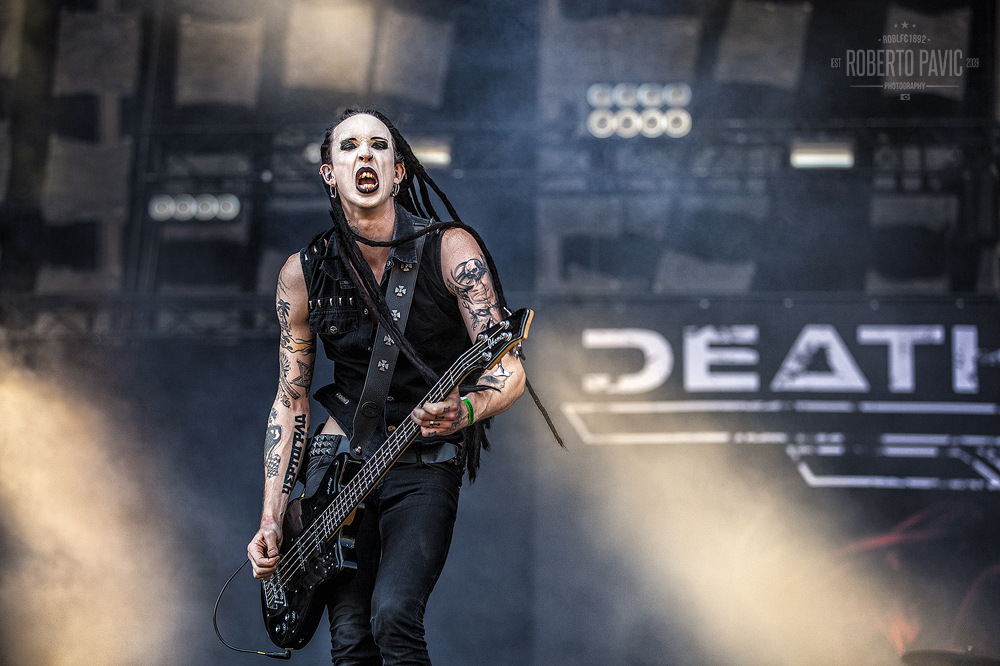 Deathstars na Nova Rock 2015 festivalu (Foto: Roberto Pavić)